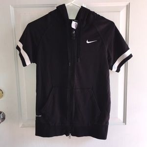 Women's Nike Dri Fit Sweatshirt Hoodie Jacket XS